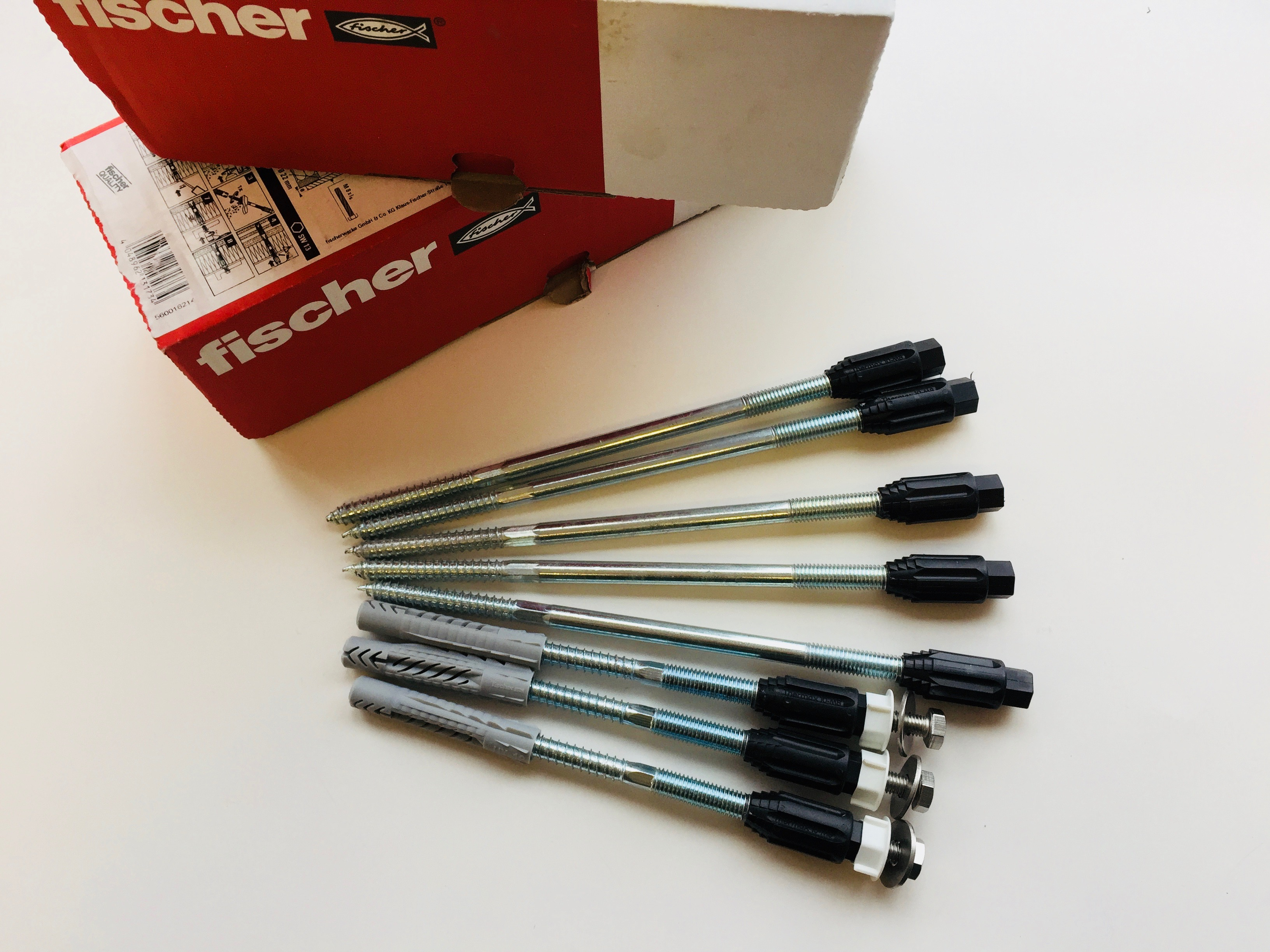Fischer Thermax anchors with thermal breaks