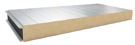 sandwich panels with PUR core