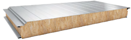 Sandwich panels mineral core