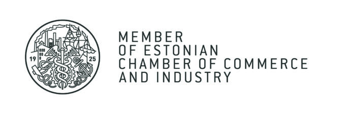 Member of Estonian Chamber of Commerce and Industry logo